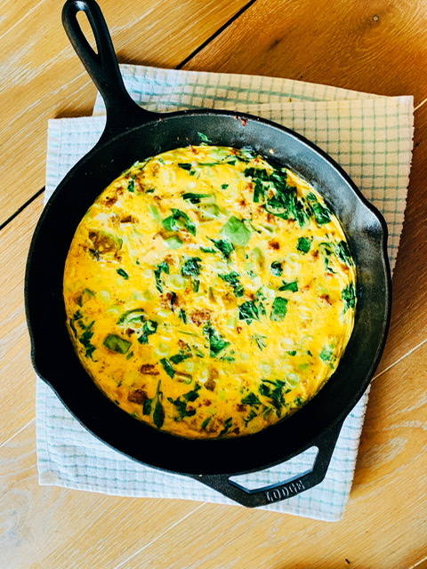 Spinach And Sausage Frittata Wellness Within Essentials